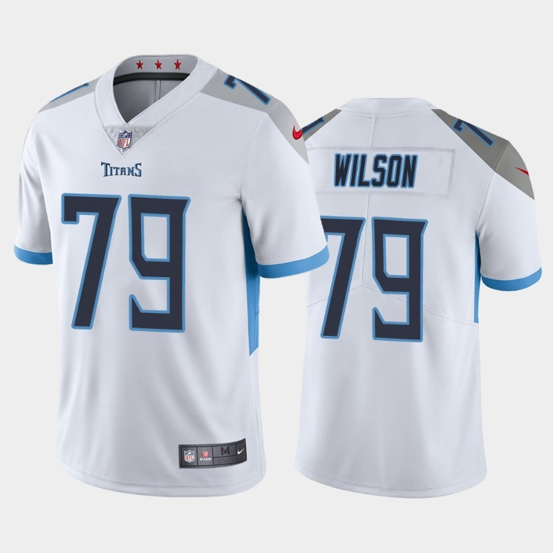 Nike Titans 79 Isaiah Wilson White 2020 NFL Draft First Round Pick Vapor Untouchable Limited Jersey