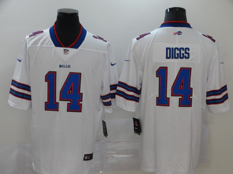 Nike Bills 14 Stefon Diggs White Vapor Untouchable Limited Jersey