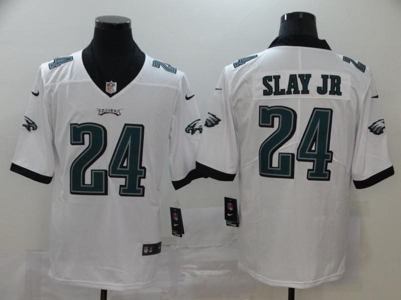 Nike Eagles 24 Darius Slay Jr White Vapor Untouchable Limited Jersey