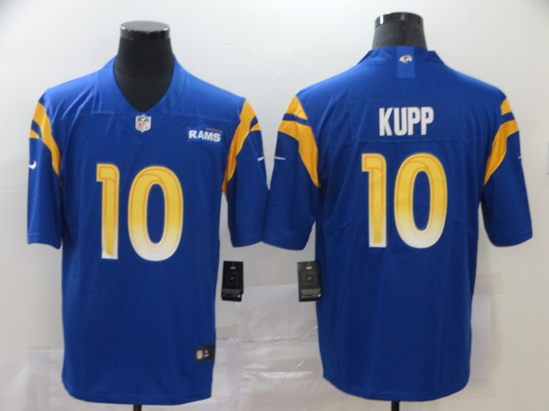 Nike Rams 10 Cooper Kupp Royal 2020 New Vapor Untouchable Limited Jersey