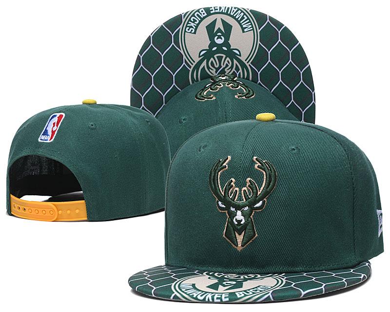 Bucks Team Logo Green Adjustable Hat TX