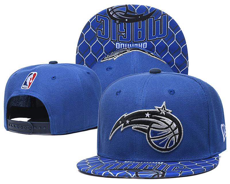 Magic Team Logo Blue Adjustable Hat TX