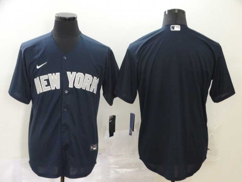 Yankees Blank Navy 2020 Nike Cool Base Jersey