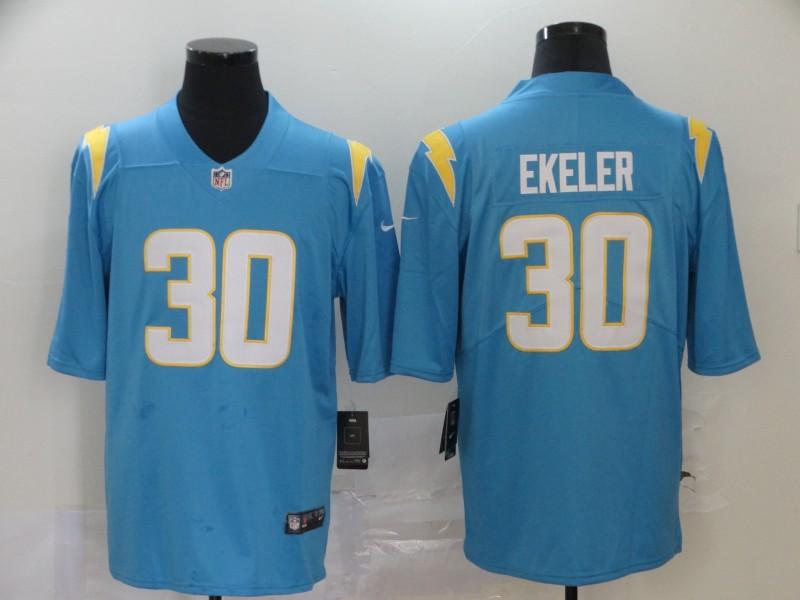 Nike Chargers 30 Austin Ekeler Blue 2020 New Vapor Untouchable Limited Jersey