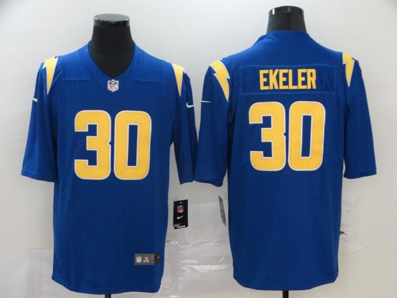 Nike Chargers 30 Austin Ekeler Royal 2020 New Vapor Untouchable Limited Jersey