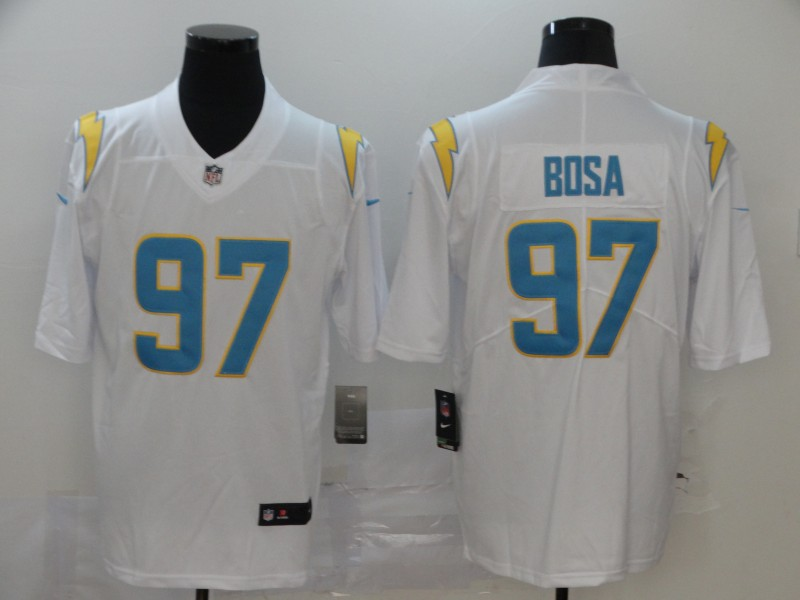 Nike Chargers 97 Joey Bosa White 2020 New Vapor Untouchable Limited Jersey