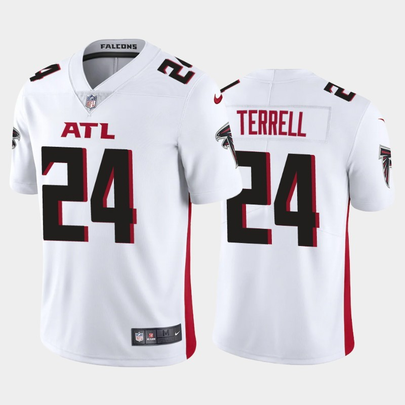 Nike Falcons 24 A.J. Terrell White 2020 NFL Draft First Round Pick Vapor Untouchable Limited Jersey