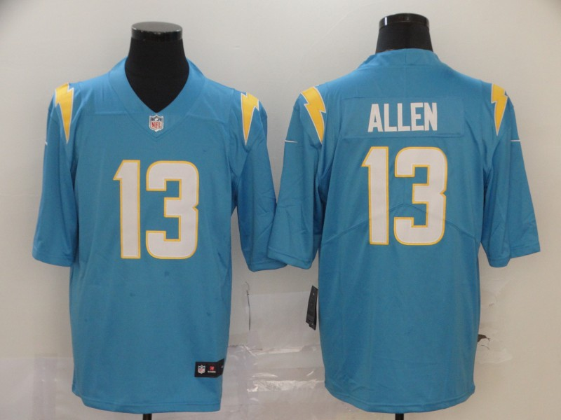 Nike Chargers 13 Keenan Allen Light Blue 2020 New Vapor Untouchable Limited Jersey