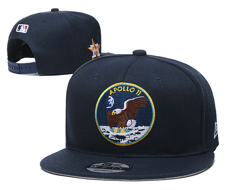 Astros Team Logo Navy Adjustable Hat YD