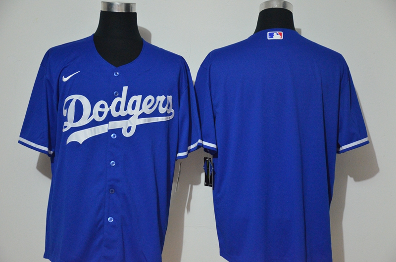 Dodgers Blank Royal 2020 Nike Cool Base Jersey