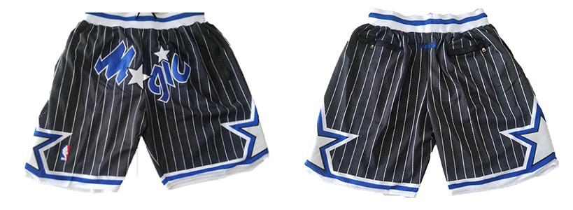 Magic Black Just Don With Pocket Swingman Shorts