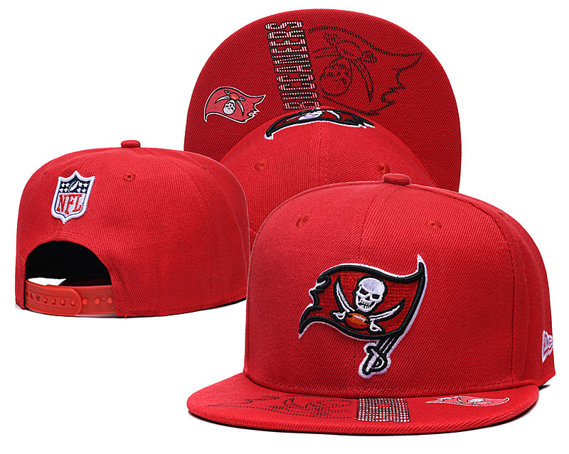 Buccaneers Team Logo Red Adjustable Hat GS