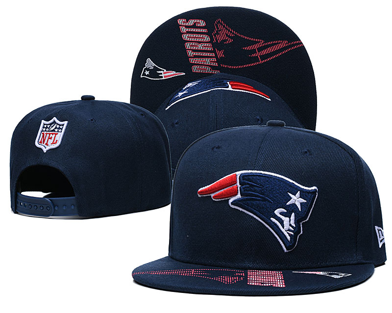 Patriots Team Logo Navy Adjustable Hat GS