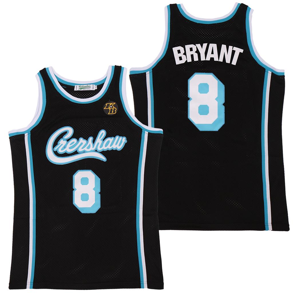 Lakers 8 Kobe Bryant Black KB Patch Swingman Jersey