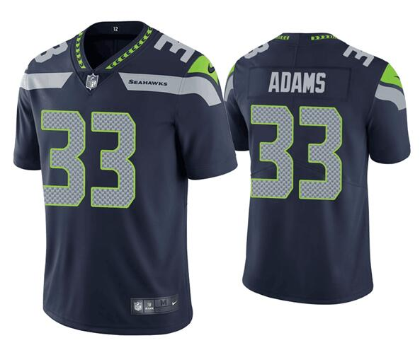 Nike Seahawks 33 Jamal Adams Navy Vapor Untouchable Limited Jersey