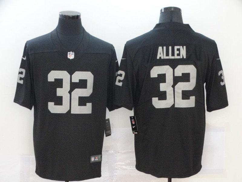 Nike Raiders 32 Marcus Allen Black Vapor Untouchable Limited Jersey