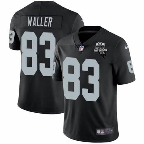 Nike Raiders 83 Darren Waller Black 2020 Inaugural Season Vapor Untouchable Limited Jersey