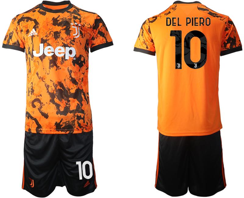 2020-21 Juventus 10 DEL PIERO Third Away Soccer Jersey