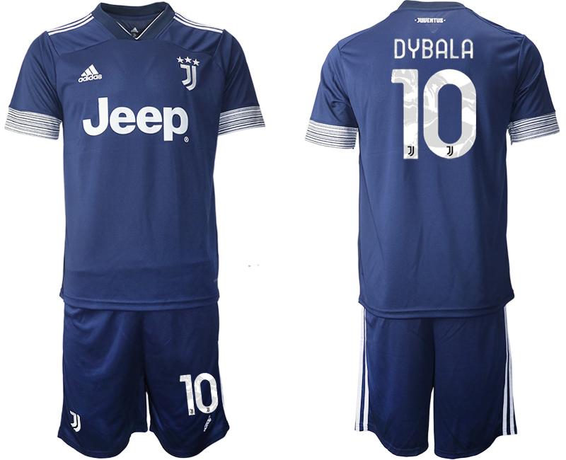 2020-21 Juventus 10 DYBALA Away Soccer Jersey