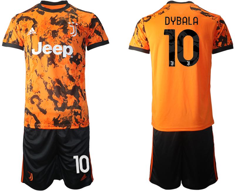 2020-21 Juventus 10 DYBALA Third Away Soccer Jersey