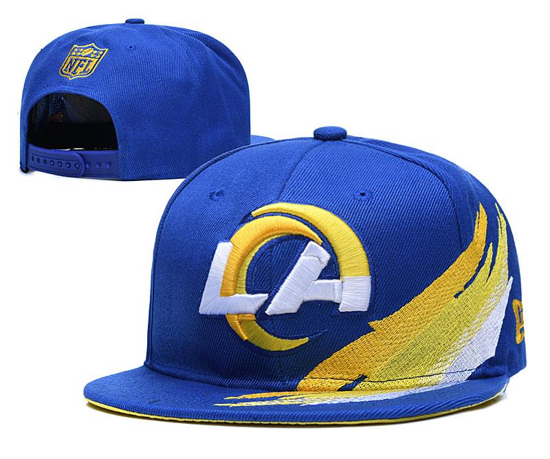 Rams Fresh Logo Blue Adjustable Hat YD