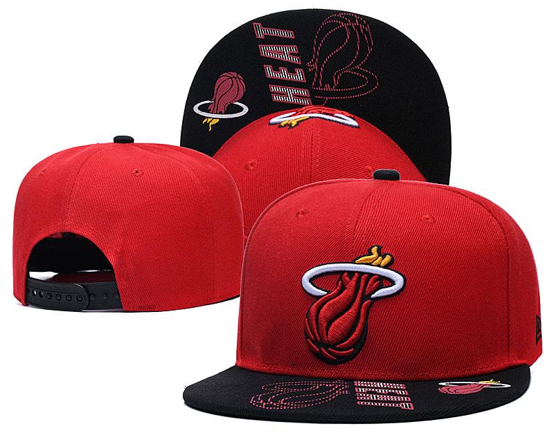 Heat Team Logo Red Adjustable Hat GS