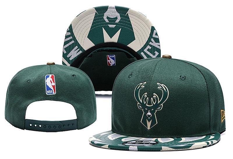 Bucks Team Logo Green Adjustable Hat YD