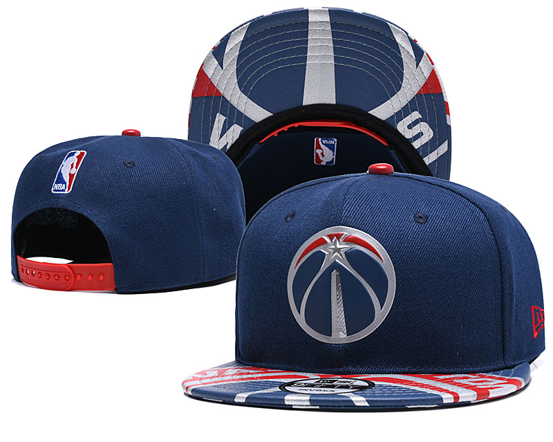 Wizards Team Logo Navy Adjustable Hat YD