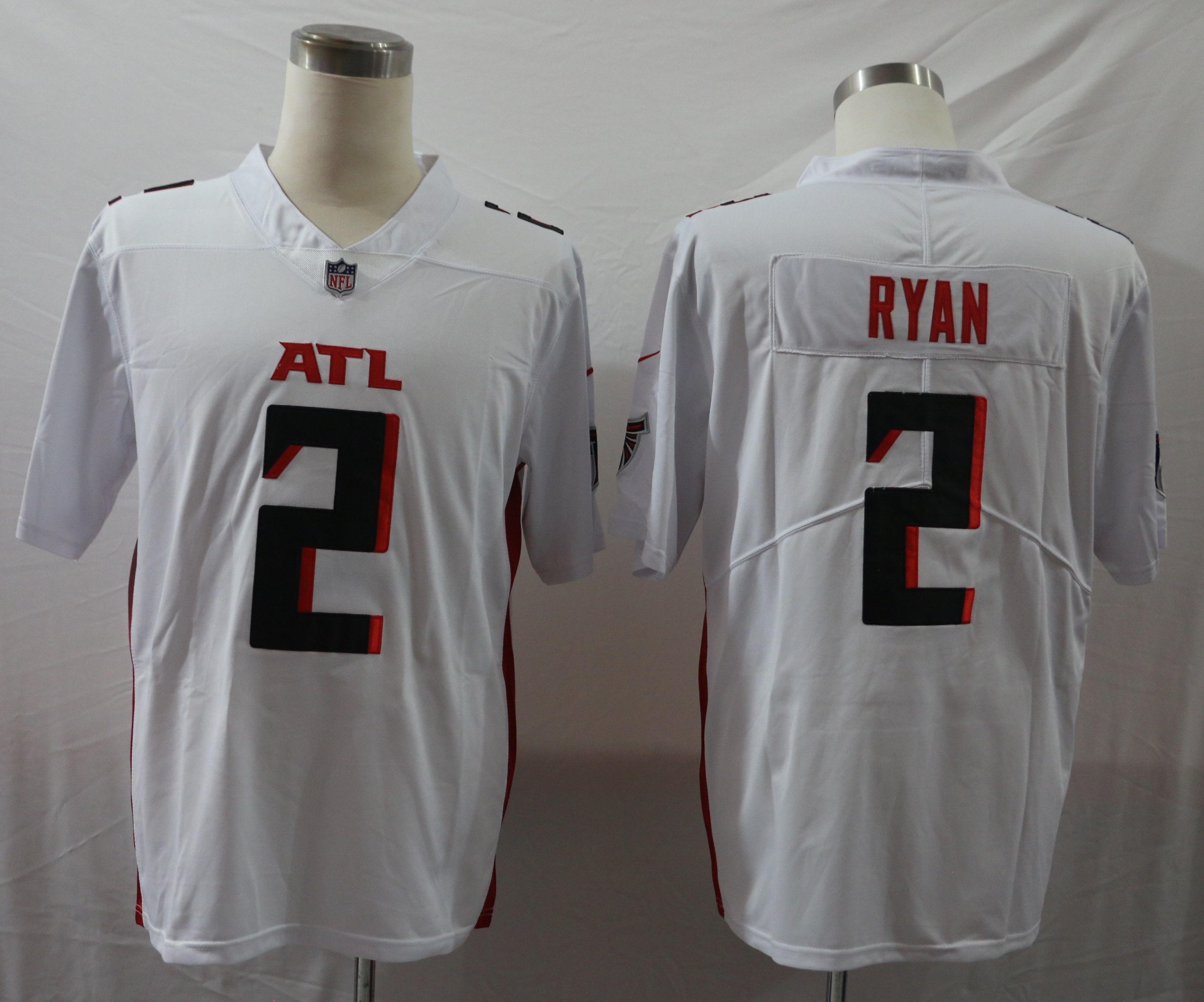 Nike Falcons 2 Matt Ryan White New Vapor Untouchable Limited Jersey