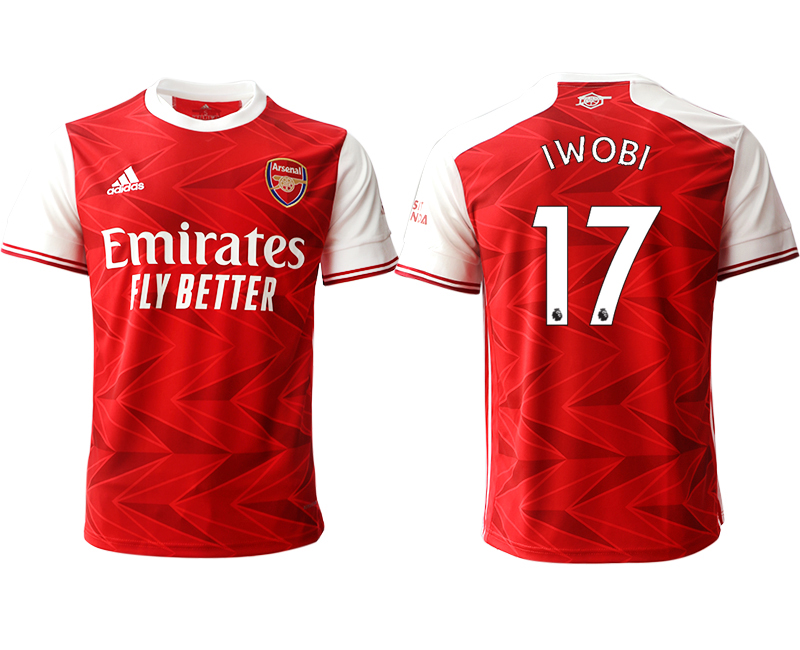 2020-21 Arsenal 17 IWOBI Home Thailand Soccer Jersey
