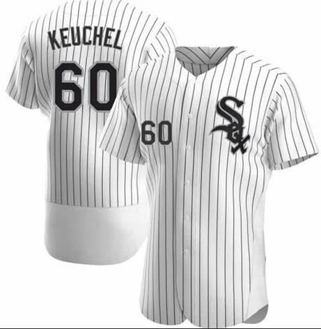 White Sox 60 Dallas Keuchel White Flexbase Jersey
