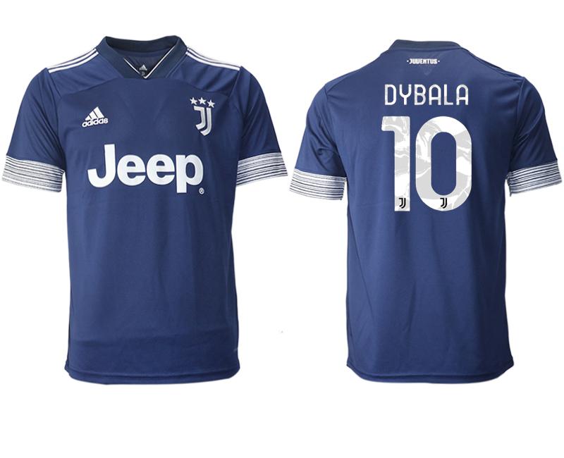 2020-21 Juventus 10 DYBALA Away Thailand Soccer Jersey