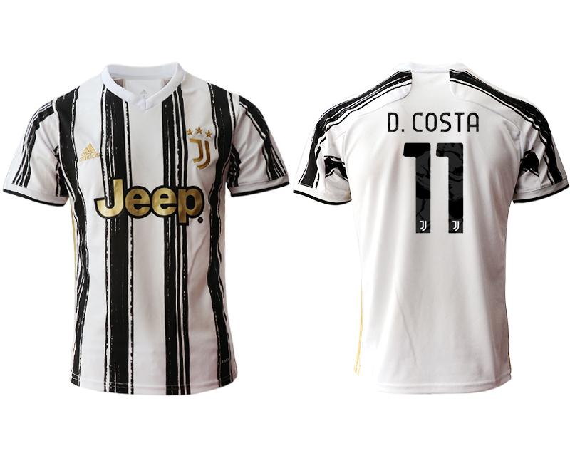 2020-21 Juventus 11 D.COSTA Home Thailand Soccer Jersey