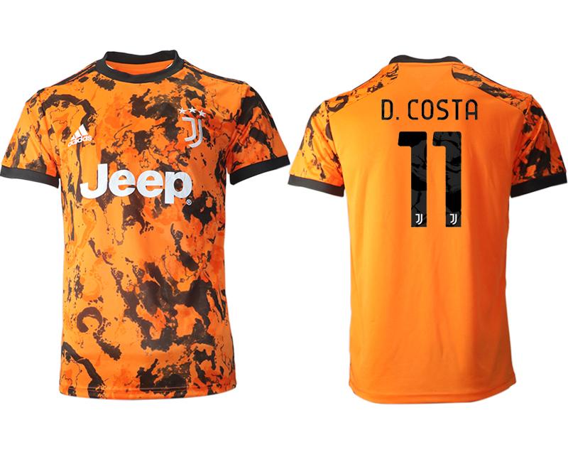 2020-21 Juventus 11 D.COSTA Third Thailand Soccer Jersey
