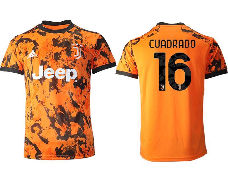 2020-21 Juventus 16 CUADRADO Third Thailand Soccer Jersey