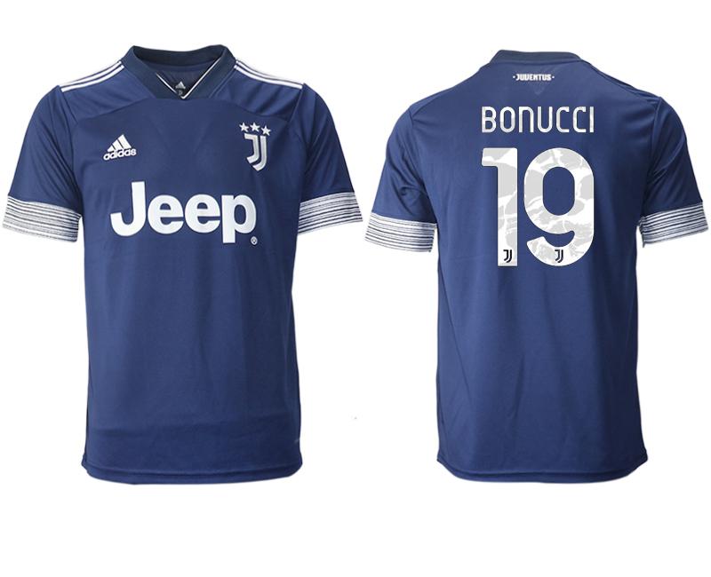 2020-21 Juventus 19 BONUCCI Away Thailand Soccer Jersey