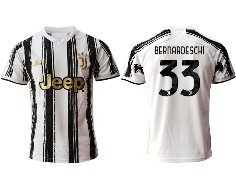 2020-21 Juventus 33 BERNARDESCHI Home Thailand Soccer Jersey