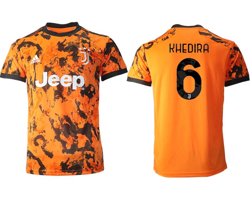 2020-21 Juventus 6 KHEDIRA Third Thailand Soccer Jersey