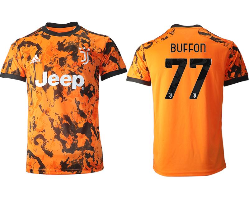 2020-21 Juventus 77 BUFFON Third Thailand Soccer Jersey