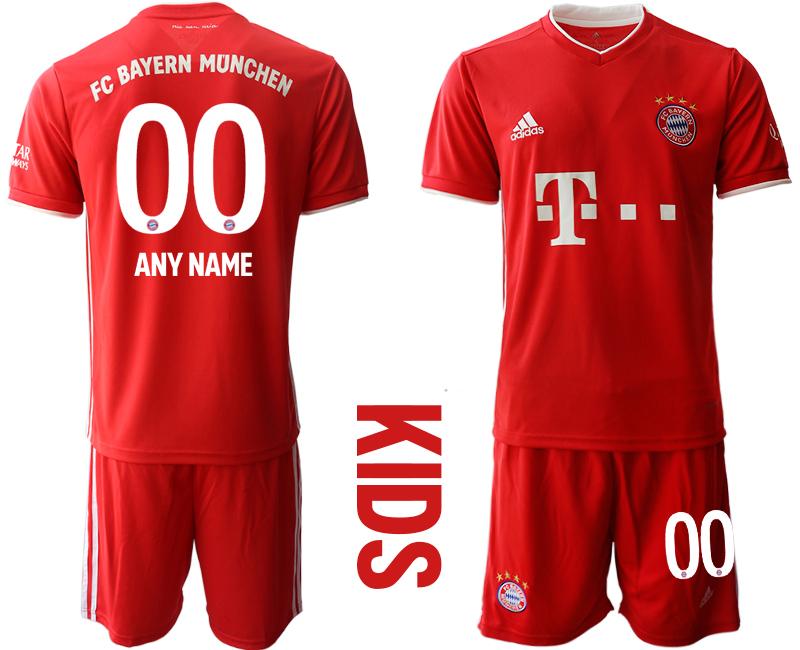 2020-21 Bayern Munich Customized Youth Home Soccer Jersey