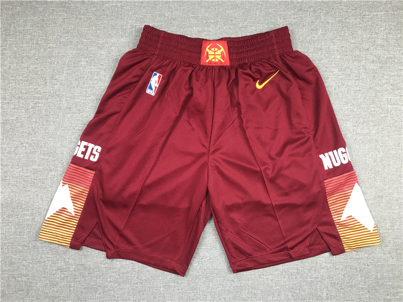 Nuggets Teams Red Just Don City Edition Swingman Shorts