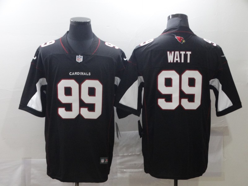 Nike Cardinals 99 J.J. Watt Black Vapor Untouchable Limited Jersey