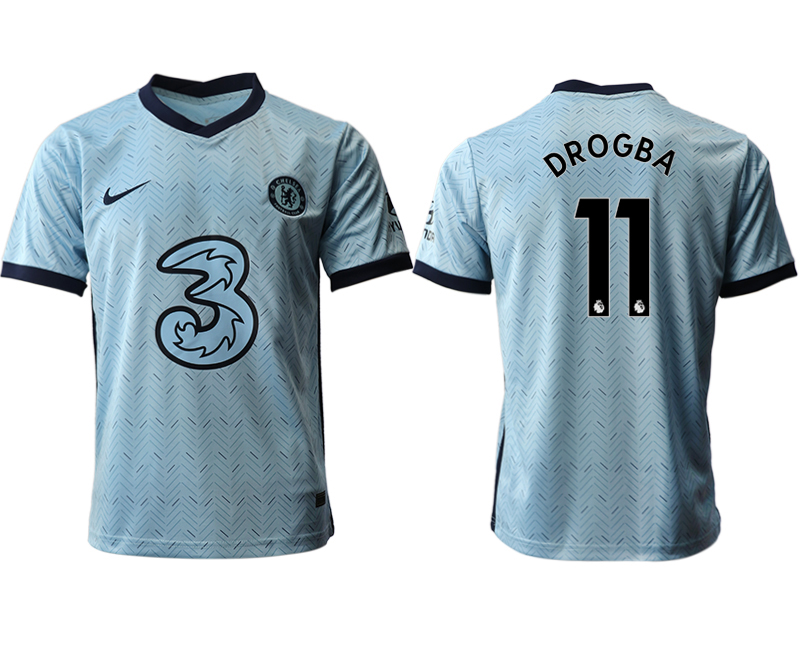 2020-21 Chelsea 11 DROGBA Away Thailand Soccer Jersey