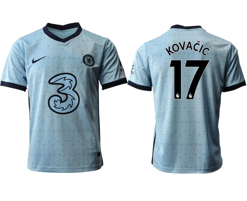 2020-21 Chelsea 17 KOVACIC Away Thailand Soccer Jersey