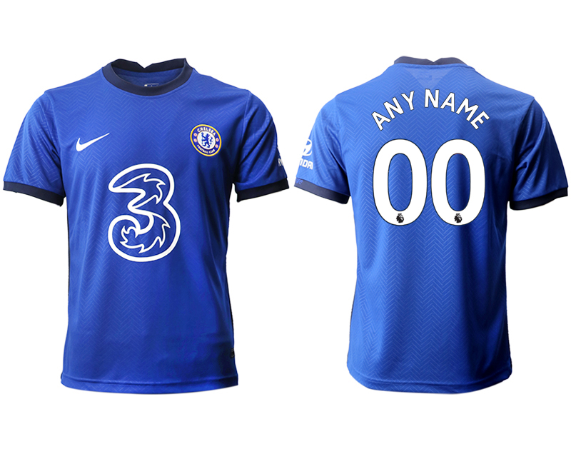 2020-21 Chelsea Customized Home Thailand Soccer Jersey