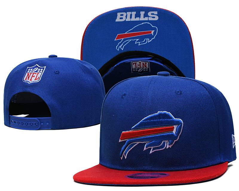 Bills Team Logo Royal Adjustable Hat TX