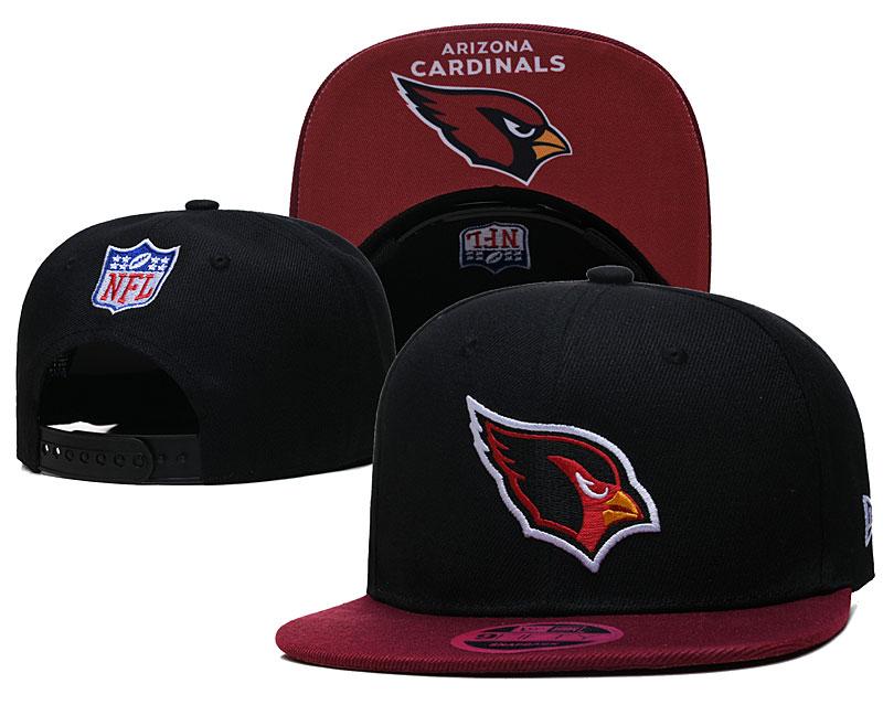 Cardinals Team Logo Black Adjustable Hat TX