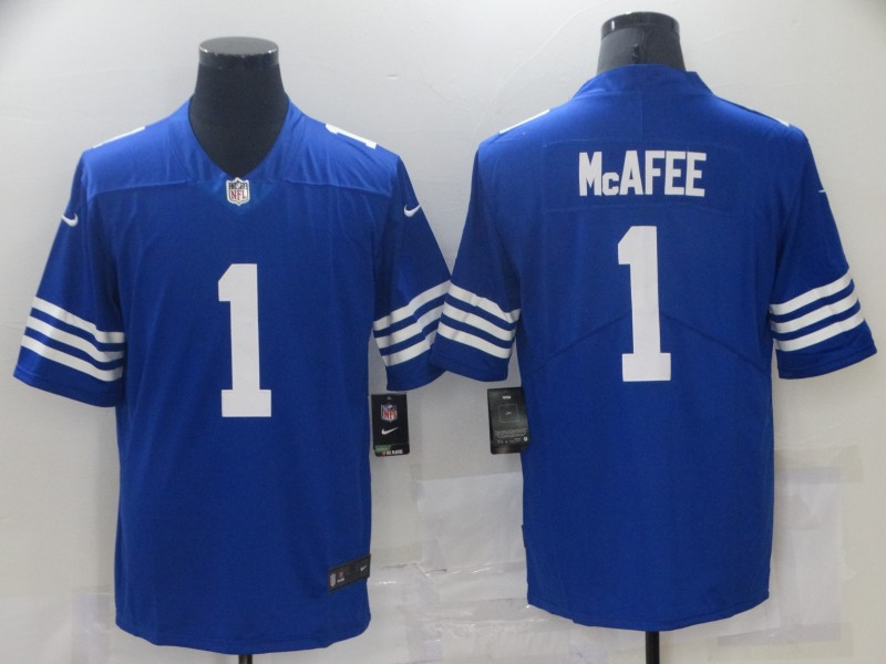 Nike Colts 1 Pat McAfee Royal Vapor Untouchable Limited Jersey