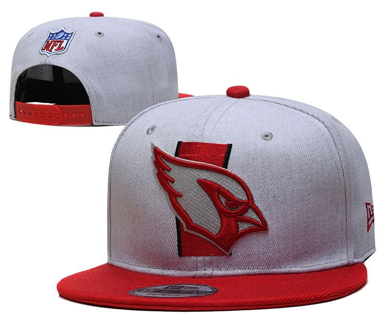 Cardinals Team Logo Gray Red Adjustable Hat YD
