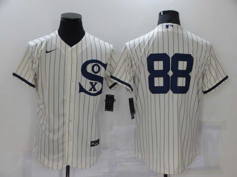 White Sox 88 Luis Robert Cream Nike 2021 Field Of Dreams Player Flexbase Jersey